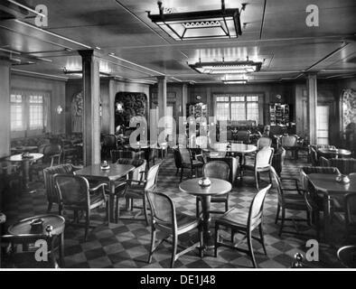 1930s germany hamburg america line poster stockfoto lizenzfreies bild 97998904 alamy. Black Bedroom Furniture Sets. Home Design Ideas
