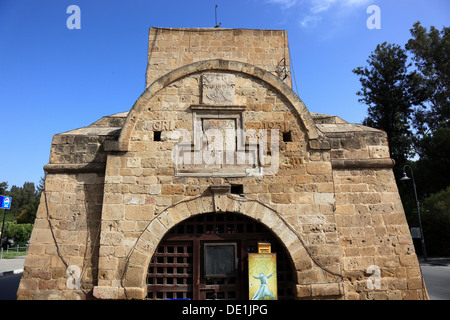 Lefkosa, Lefkosia, Nicosia, Northern Cyprus, the Girne Kapisi, Kyrenia-gate or Girne-gate in the north of the old - Stock Photo