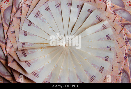Currency Garland - Stock Photo