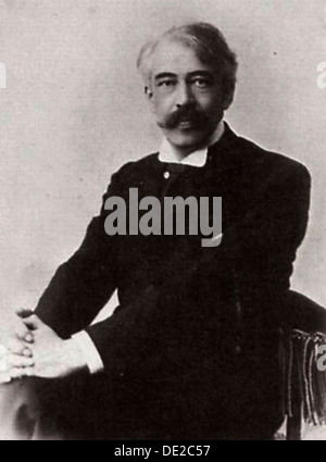 Konstantin Stanislavsky, Russian actor ant theatre director, c1890-c1900.  Artist: William Andreevich Carrick - Stock Photo