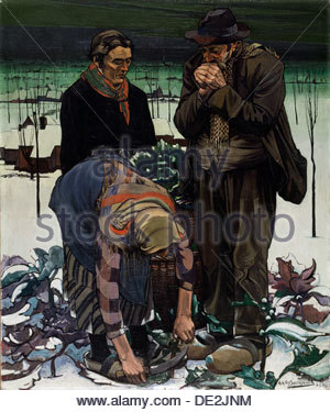 'Winter', 1931. Artist: Achille van Sassenbrouck - Stock Photo