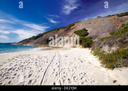 Misery Beach, Torndirrup National Park, Albany, Western Australia - Stock Photo