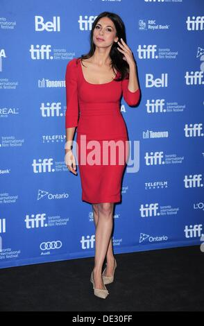 Toronto, Ontario, Canada. 10th Sep, 2013. Moran Atias at the press conference for THIRD PERSON Photo Call at the - Stock Photo