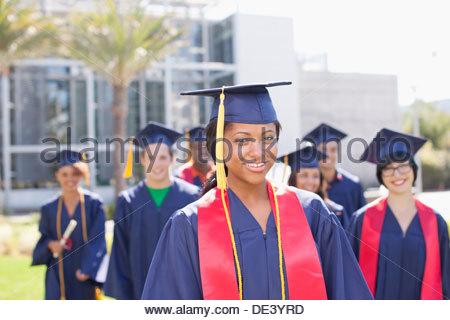 Graduates - Stock Photo