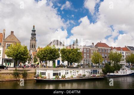 Overview of Middelburg, Zeeland province, Holland - Stock Photo