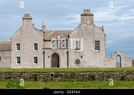 Skaill House on Mainland, Orkney. - Stock Photo