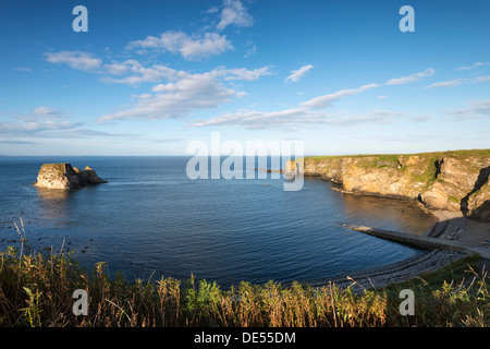 Cliff, Brough Bay near Dunnet Head peninsula, Caithness County, Scotland, United Kingdom, Europe - Stock Photo