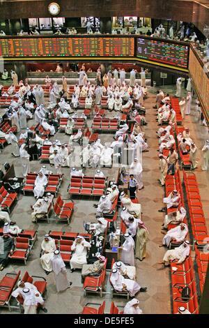 Stock Exchange at Kuwait City, Kuwait - Stock Photo