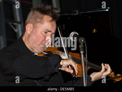 Violinist Nigel Kennedy. - Stock Photo