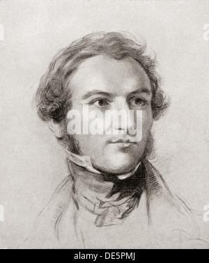 William Ewart Gladstone, 1809 – 1898. British Liberal politician and four times Prime Minister of the United Kingdom. - Stock Photo