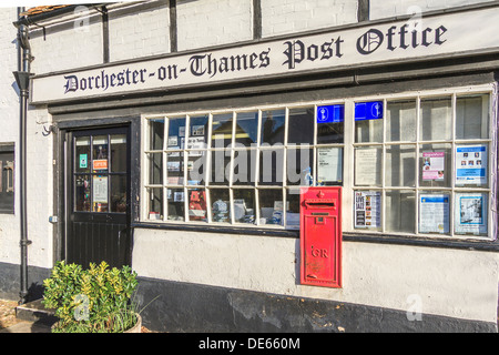 Post Office Dorchester On Thames Oxfordshire UK - Stock Photo