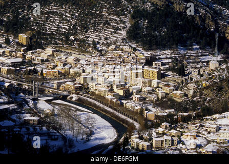 Puget Theniers var valley Alpes-Maritimes 06 France Europe - Stock Photo