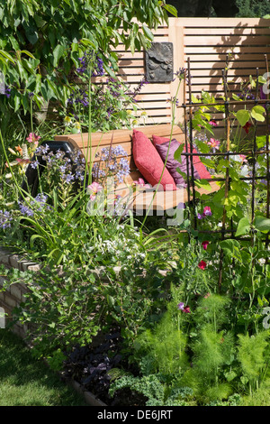 England, Cheshire, Tatton, RHS Show, garden design - Stock Photo