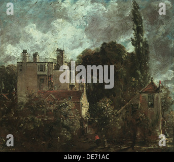 The Grove, or the Admiral's House in Hampstead, 1821-1822. Artist: Constable, John (1776-1837) - Stock Photo