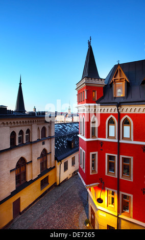 Buildings in Stockholm (Sweden) - Stock Photo