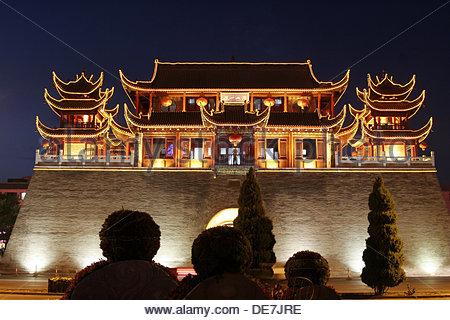 Pagoda. Yinchuan Ningxia China - Stock Photo