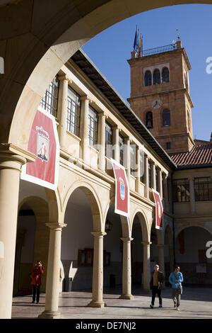 Spain, Asturias, Oviedo. University historical building. - Stock Photo