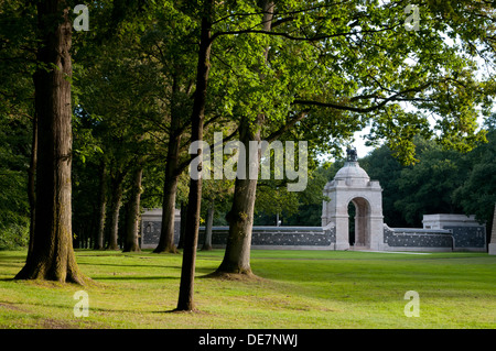 South African National Memorial, Delville Wood, Somme, France - Stock Photo