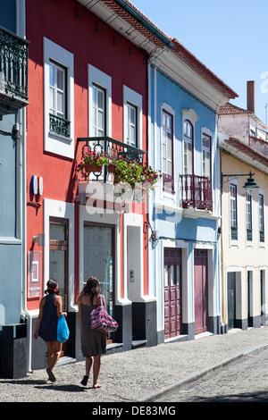 Ilha Terceira , Angra do Heroismo, Cidade Património Mundial Terceira Island , City of Angra do Heroismo, - Stock Photo