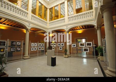 Palacio de Medrano, Delegación Provincial de la Junta de Comunidades, Ciudad Real, Spain - Stock Photo