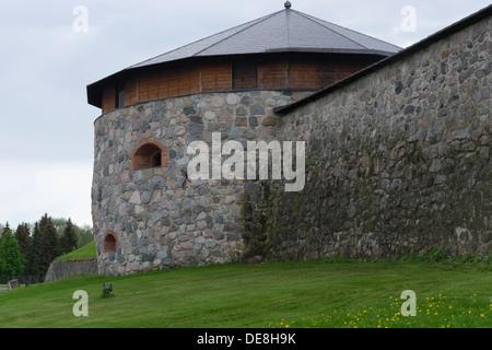 Häme Castle in Hämeenlinna Finland - Stock Photo