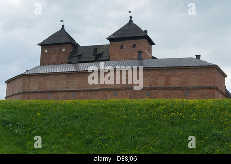 Häme Castle in Hämeenlinna Finland - Stock Photo