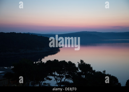 Sunrise on a croatian island of Dugi Otok - Stock Photo