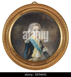 Portrait of Gustav IV Adolf of Sweden, 1792. Artist: Lafrensen, Niclas (1737-1807) - Stock Photo