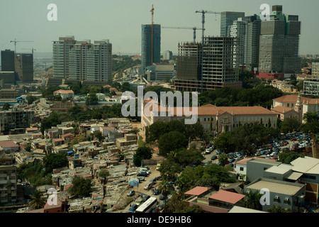New offices and hotels being built in Luanda, Angola - Stock Photo