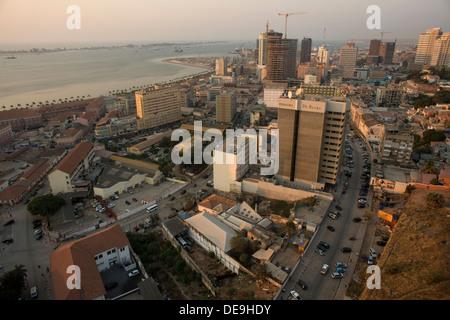 Skyline of Luanda, Angola - Stock Photo