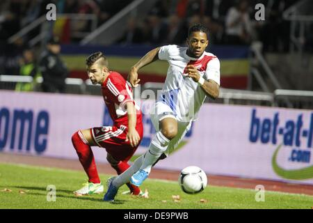 Jeremain Lens (NED), SEPTEMBER 10, 2013 - Football / Soccer : FIFA World Cup 2014 Qualifying round match between - Stock Photo