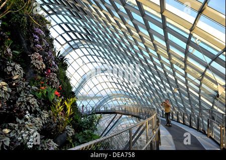 Garden By The Bay Attractions singapore tourist attractions - cloud forest at gardensthe bay