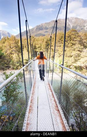 Mount Aspiring National Park, South Island, New Zealand - Stock Photo