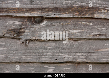 wooden fence panel abstract background - Stock Photo