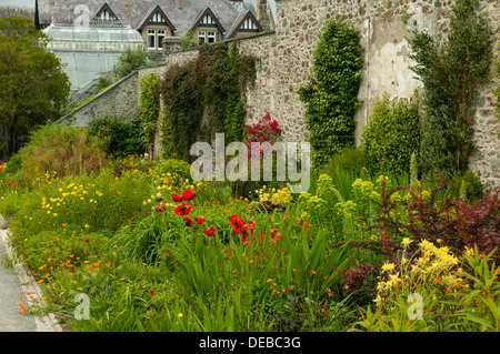 Bodnant Gardens, Conwy, Wales - Stock Photo
