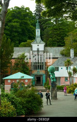 Portmeirion, Gwynedd, Wales - Stock Photo