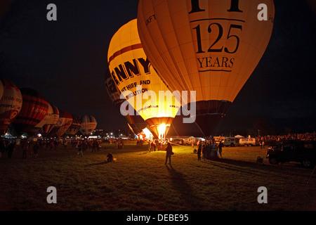 Nightglow at the Bristol International Balloon Fiesta