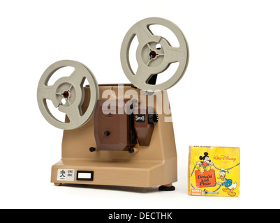 Vintage 1970's Super-8 cine projector 'Cine Bral', made in Italy by Bral - Stock Photo