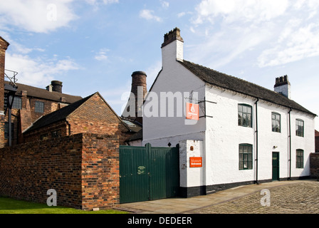 Gladstone Pottery Museum is a working museum in Stoke on Trent, England - Stock Photo