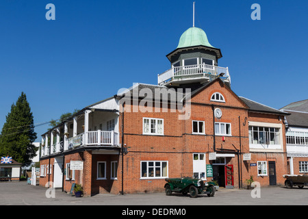 Brooklands Racetrack clubhouse, Weybridge, Surrey, England, United Kingdom, Europe - Stock Photo