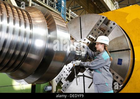 Mülheim an der Ruhr, Germany, collaborative engineers, training at Siemens Energy Mulheim - Stock Photo