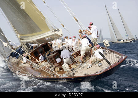The Superyacht Cup, Palma de Mallorca, Spain - Stock Photo