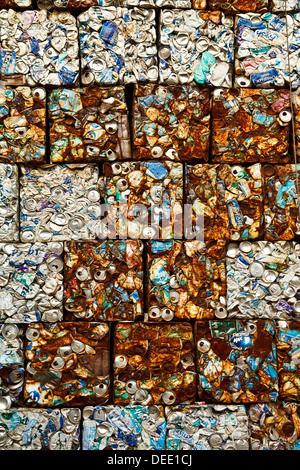 screen made forn recycle can - Stock Photo