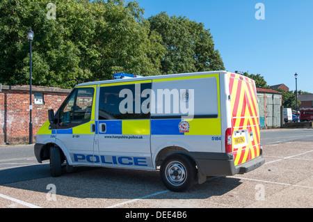 Police Van - Stock Photo