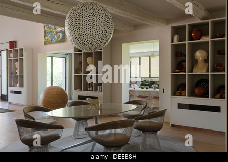 ... Dining Room In The Home Of Bruno And Dominique Lafourcade In Provence    Stock Photo