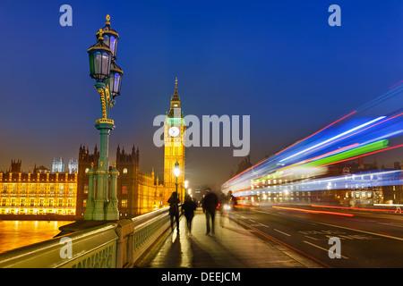 London at night - Stock Photo