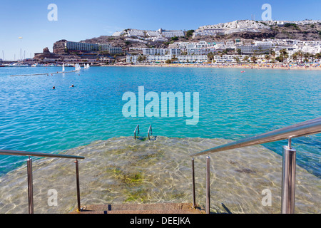 Puerto rico gran canaria canary islands holiday vacation stock photo royalty free image - Puerto rico spain weather ...