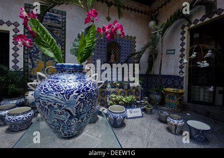 Mexican Pottery On Display In A Department Store In Nuevo
