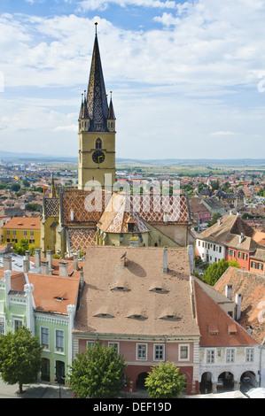 Sibiu (Hermannstadt), european capital of culture 2007 - Stock Photo