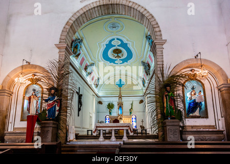 Africa, Angola, Luanda. The Church of Our Lady of the Remedies. - Stock Photo
